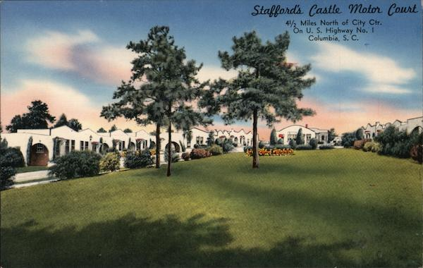 Stafford's Castle Motor Court Columbia South Carolina