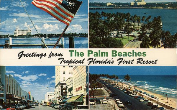Greetings From The Palm Beaches Florida