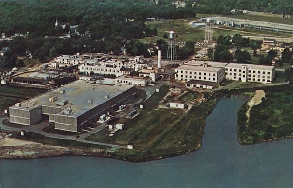 Parke-Davis Chemical Manufacturing Plant Holland Michigan