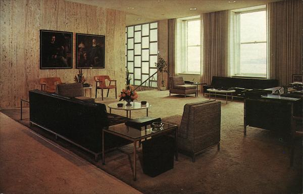 Reception Room, Parke-Davis Detroit Michigan