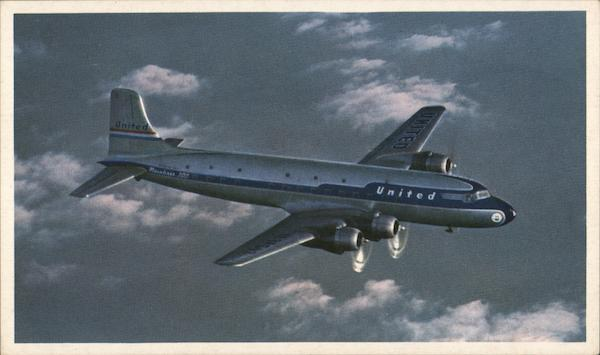 DC-6 Mainliner 300 - United Airlines Aircraft