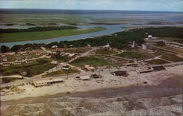 Aerial View of Recreation Area Isle of Palms South Carolina