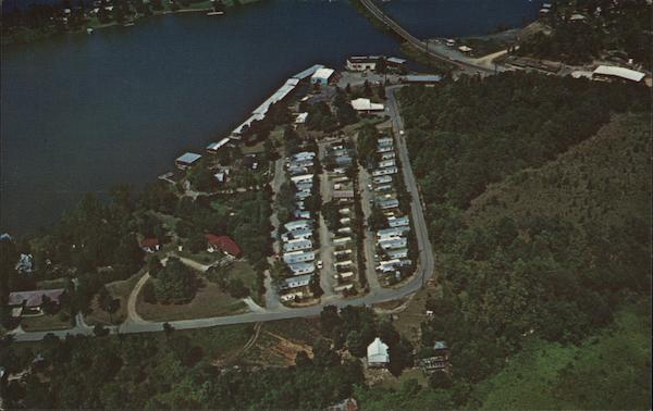 Aerial View of Lake Shore Trailer Park Hot Springs National Park Arkansas