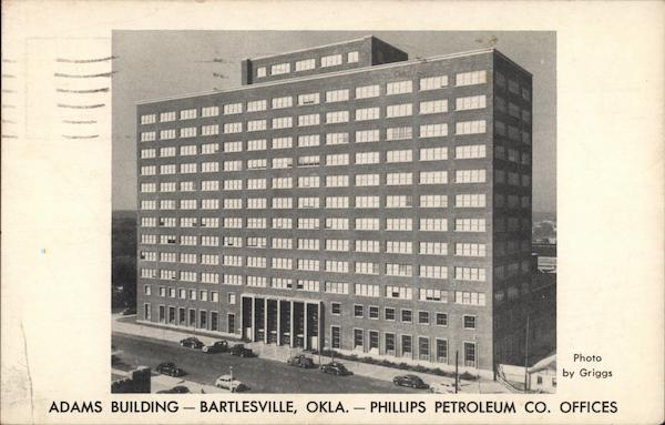 Adams Building, Phillips Petroleum Co. Offices Bartlesville Oklahoma