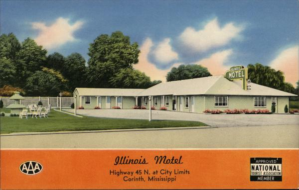 Illinois Motel Corinth Mississippi