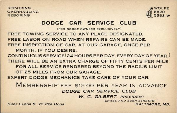 Dodge Car Service Club Baltimore Maryland Cars