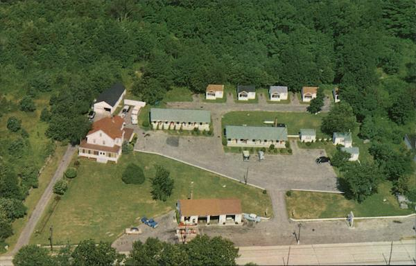 Aerial View of Green Acres Motor Court North Kingstown Rhode Island