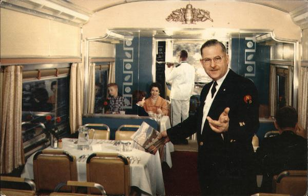 Dining Car, Southern Pacific Railway Trains, Railroad
