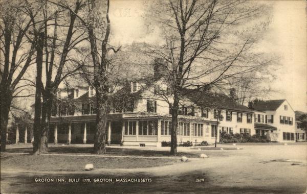 Groton Inn Marketing Mail: Groton Inn, Built 1770 Massachusetts Postcard