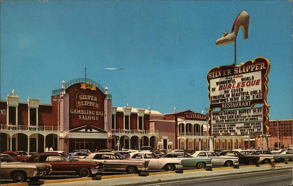 Silver Slipper Gambling Hall Saloon Las Vegas Nevada