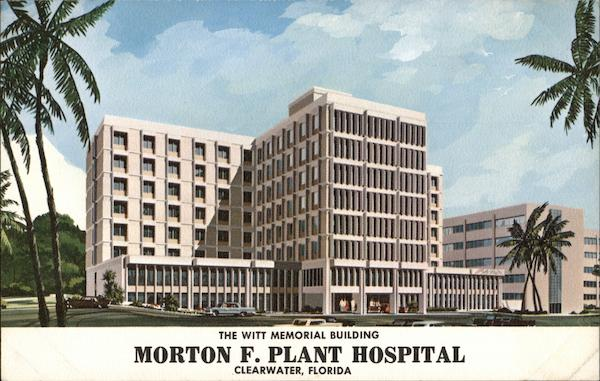 Morton F. Plant Hospital - Witt Memorial Building Clearwater Florida