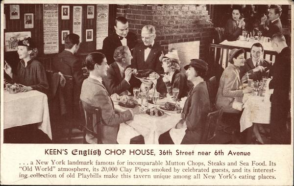 Keen's English Chop House New York