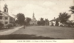 Across the Green - A Glimpse of Par of Storrowtown Village