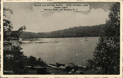 Beach and Diving Rafts, West Fayson Lake