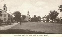 Across the Green, Storrowton Village