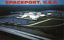 Aerial View of Spaceport U.S.A.