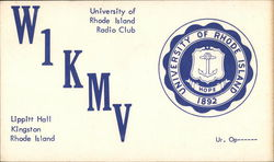 W1KMV - University of Rhode Island Radio Club, Lippitt Hall