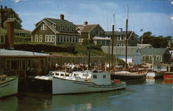 Fishing Boats at Thompson's Landing, Wychmere Harbor