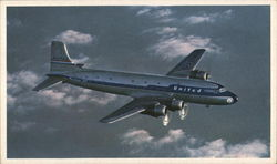 DC-6 Mainliner 300 - United Airlines