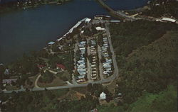 Aerial View of Lake Shore Trailer Park