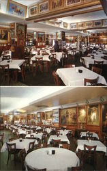 Interior Views of Haussner's Restaurant