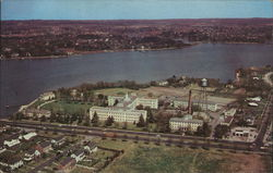 Aeriel View of U.S. Public Health Service Hospital