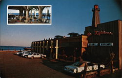 Lighthouse Restaurant Postcard