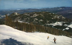 Rocket Ski Trail on Cannon Mountain
