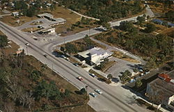 Aerial of Homosassa Springs
