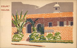 Court House, Topanga Canyon Original Serigraph Hand Made