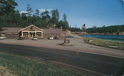 Custer State Park - Legion Lake Resort, Black Hills Postcard