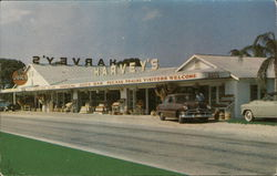 Harvey's Groves Postcard