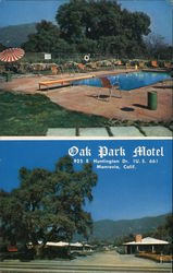 Oak Park Motel Postcard