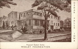 Iowa State Teachers College, Wesley Foundation - Proposed Student Center