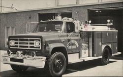 City of Baytown Fire Department Engine Postcard