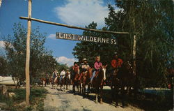 Lost Wilderness Ranch: Riding Horses