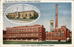 The American Tobacco Company Research Laboratory, Lucky Strike Cigarette plant