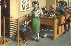 Cat School Room