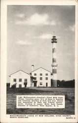 Mattamuskett Lodge Lighthouse