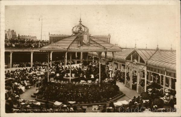View of Bandstand Clacton-on-Sea England