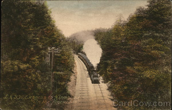 L. & S.W. Express to Hindhead England