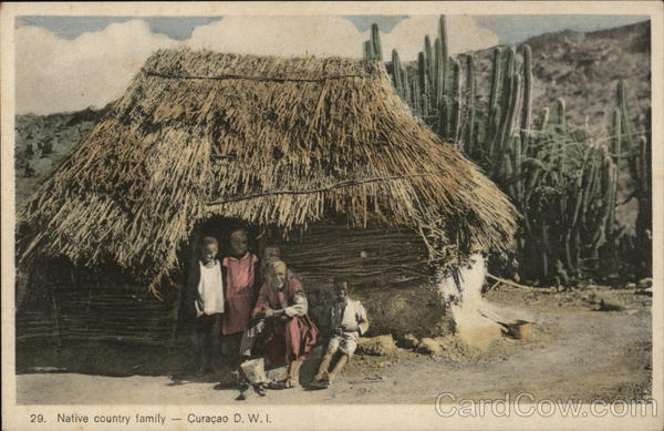 Native Country Family Curacao Caribbean Islands