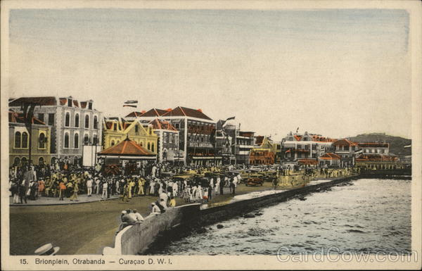 Brionplein, Otrabanda Curacao Dutch West Indies Caribbean Islands