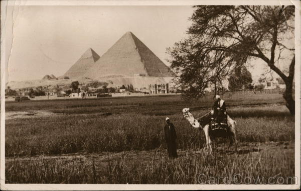 The Pyramids of Gizeh Giza Egypt Africa