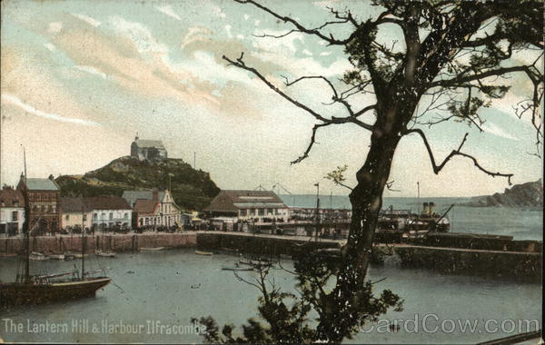 The Lantern Hill & Harbour Ilfracombe England