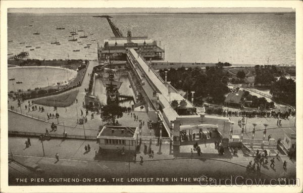 The Pier, the Longest Pier in the World Southend-on-Sea England