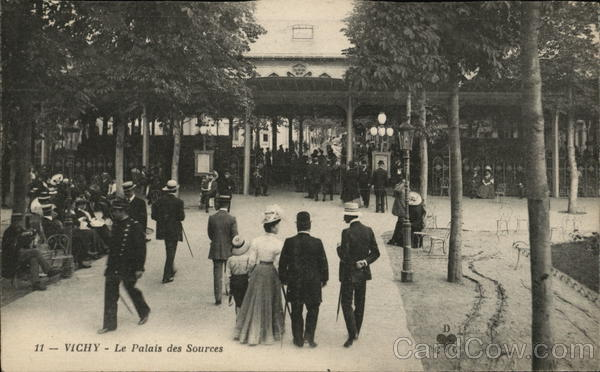 Le Palais des Sources Vichy France