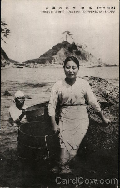 Pearl Divers Shima Japan