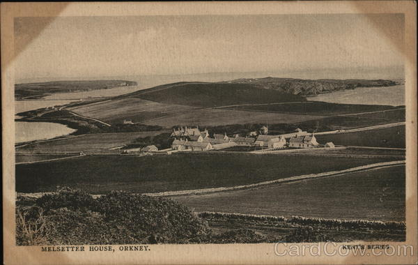 View of Melsetter House Orkney Scotland