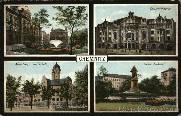 Greetings from Chemnitz Germany